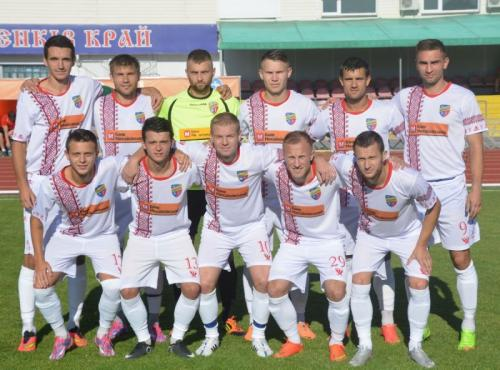 Черкаський футбольний клуб у цьому сезоні гратиме у вишиванці (ФОТО)