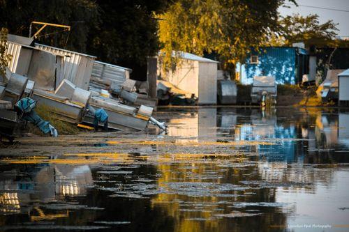 Красивий фотопогляд на причал у Дахнівці (ФОТО)