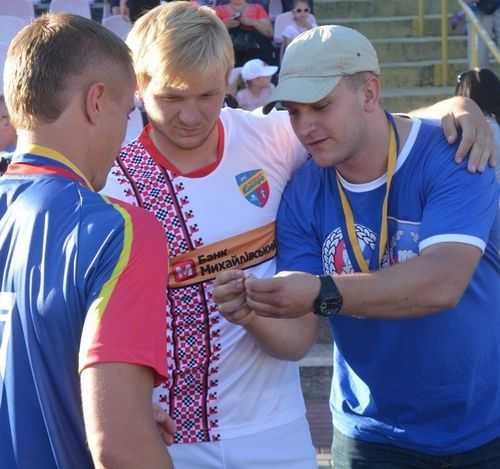 Черкаський воротар віддав золоту медаль на потреби АТО