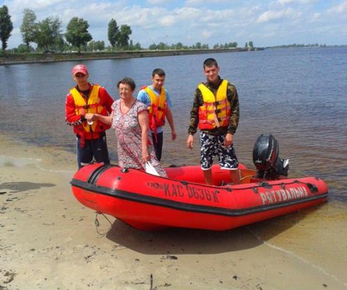Із початку цього пляжного сезону в Черкасах врятували вісьмох відпочивальників
