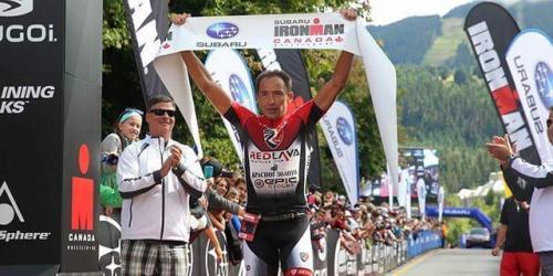 Черкаський триатлет у 42 роки виграє етап серії IRONMAN