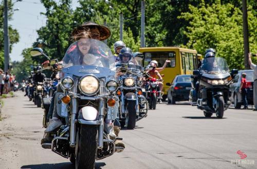 Більше тисячі байкерів відвідали Черкащину (ВІДЕО)