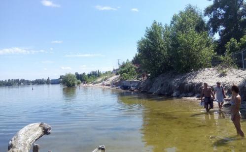 Черкащани просять відновити їм доступ до узбережжя Дніпра