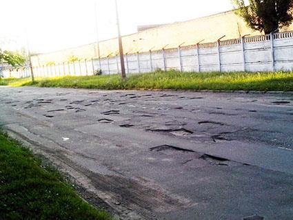 У Черкасах є вулиця, куди ніколи не приїдуть асфальтувальники