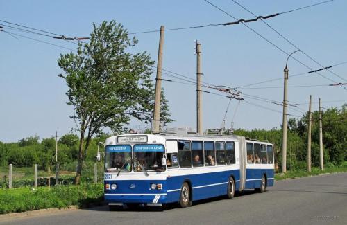У черкаських тролейбусах з'явився Wi-Fi