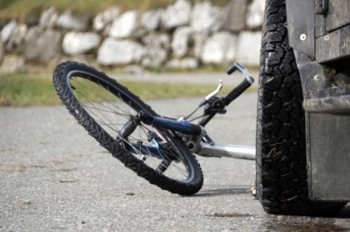 У Черкасах водій збив велосипедиста