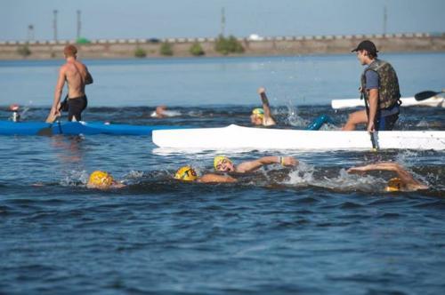 У найближчу суботу на міжнародному рівні плитимуть через Дніпро
