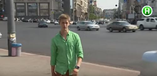Черкаський журналіст провокував киян у центрі столиці (ВІДЕО)