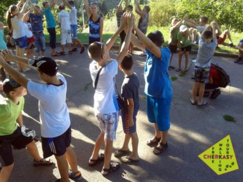 Для дітей переселенців влаштували знайомство з Черкасами