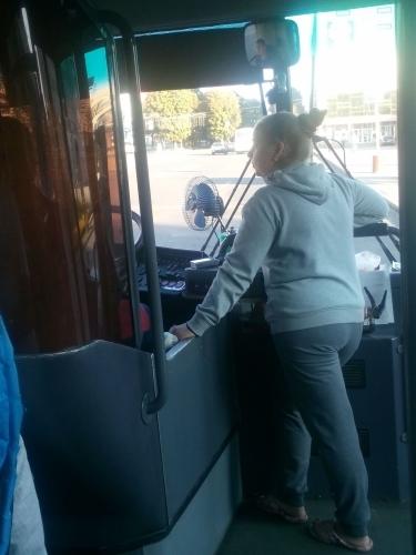 Якою є безпека руху в маршрутках Черкас
