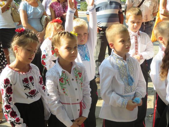 У черкаській школі з'явився козацький клас