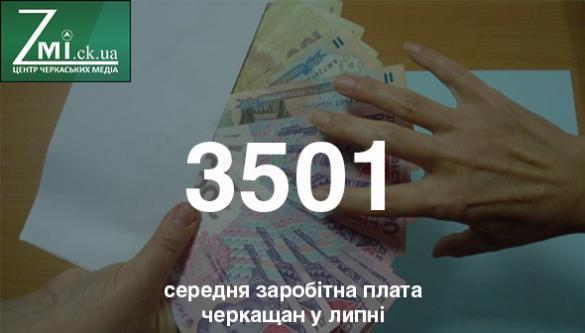 Хто на Черкащині заробляє найбільше?