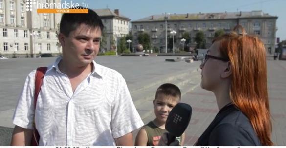 Точка зору черкащан на сутички біля Верховної Ради (ВІДЕО)