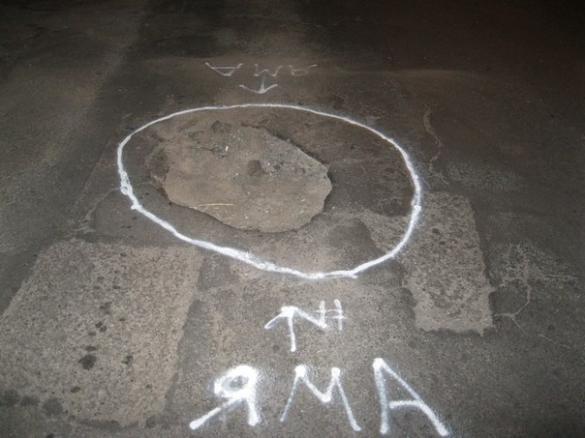 У Черкасах проблемні ями на дорогах активісти обведуть фарбою