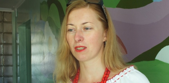 Жінка-міліціонер повернулась із АТО:
