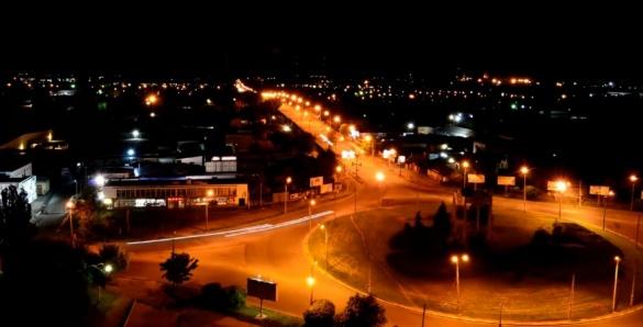 Продовження відео смілянського кола: містяни зафільмували нічні Черкаси (ВІДЕО)