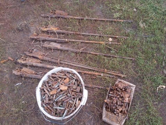 На Черкащині знищили знахідку чорних археологів