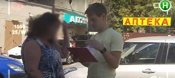 Провокатор із Черкас збирав підписи за перейменування вулиці на честь лідера сепаратистів
