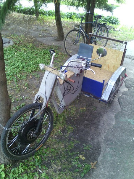 Черкаськими дорогами їздить незвичний велосипед