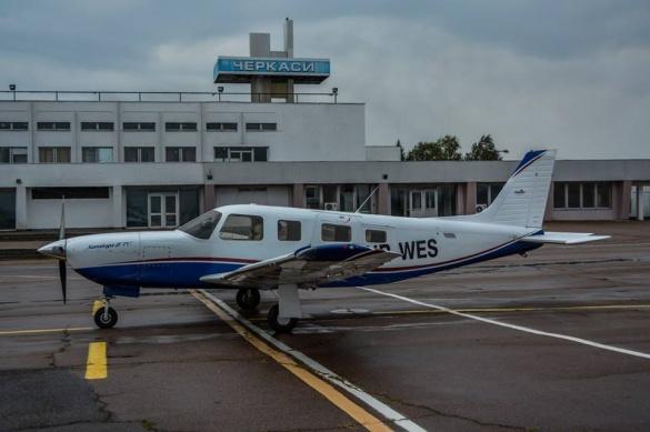 В черкаському аеропорту приземлився літак, що буде возити бізнесменів