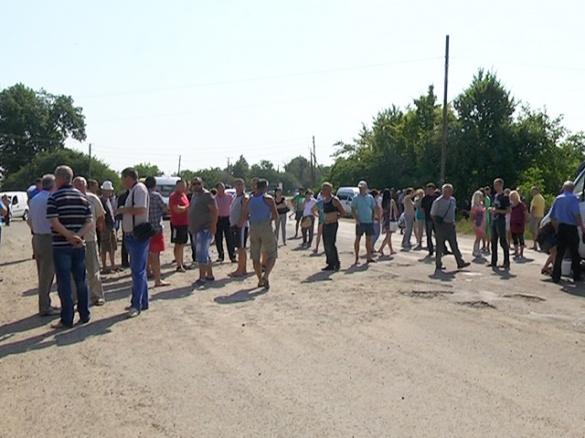 На Черкащині знову радикально бунтували селяни через будівництво