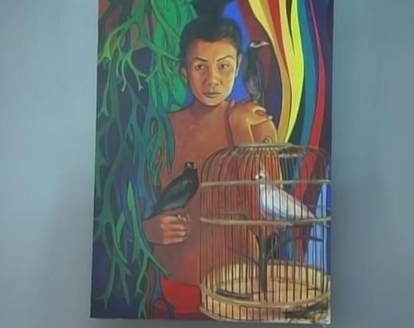 Черкаська художниця показала показала яскраві барви Тайланду (ВІДЕО)