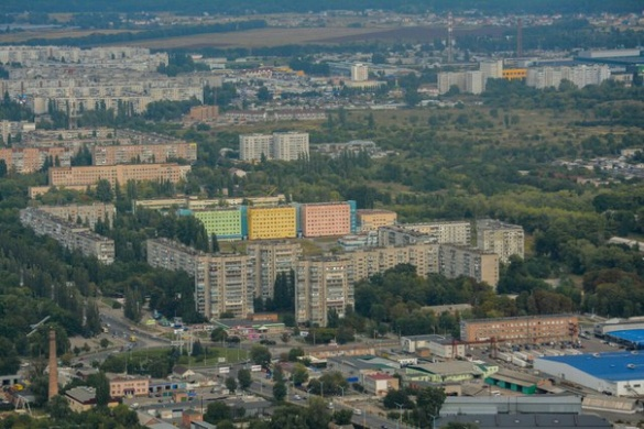 Погляд на Черкаси із висоти польоту: красиве і комфортне місто (ФОТО)