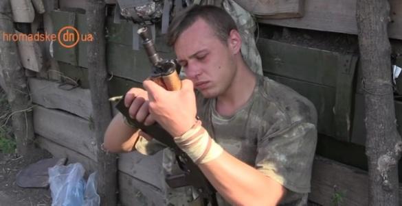 Черкаський доброволець переховується від військкомату в зоні АТО (ВІДЕО)