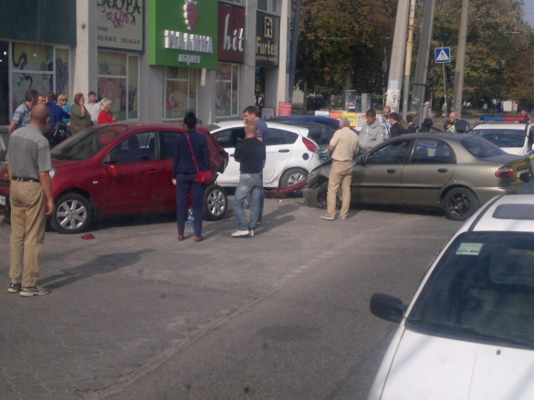 У ДАІ повідомили подробиці вчорашнього ДТП у центрі Черкас