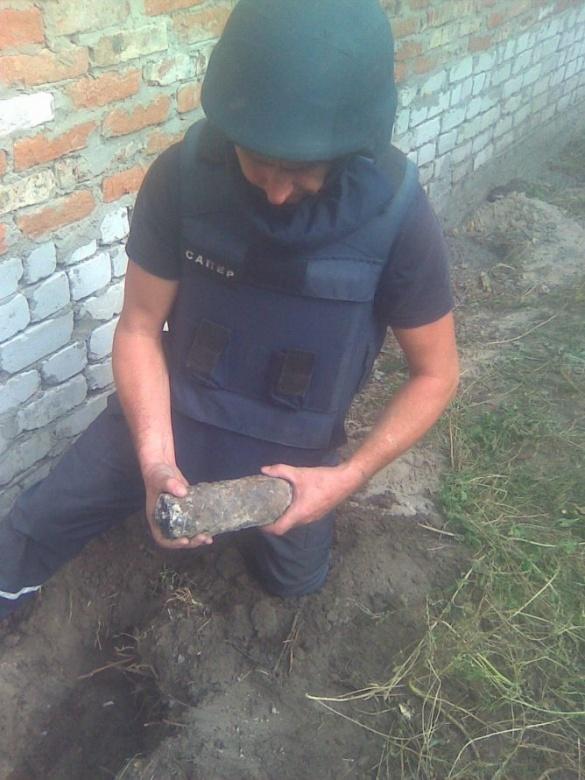 На Черкащині мало не звели будинок на снарядах