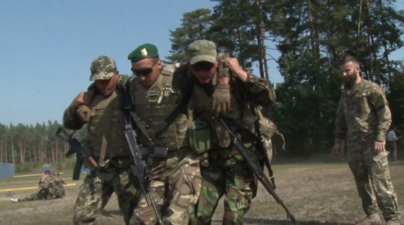 На Черкащині іноземці готують прикордонних спецпризначенців (ВІДЕО)