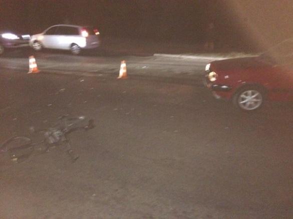 У Черкасах п'яного велосипедиста збила машина (ФОТО)