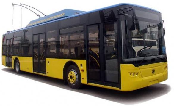 8 нових тролейбусів стали ще ближчими до Черкаського парку