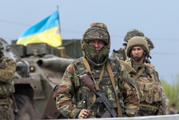 На Черкащині бійці АТО  протестували через землю, яку дали росіянину
