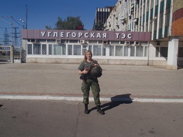 Над нашими об'єктами постійно стріляли, – перша черкащанка-міліціонер про службу в АТО (ВІДЕО)