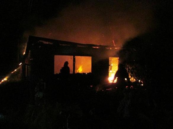 Страшна пожежа у Черкасах: горіли дачні будинки (ФОТО)
