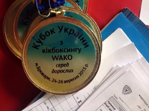 Черкаські кікбоксери вибороли перші місця на всеукраїнському чемпіонаті