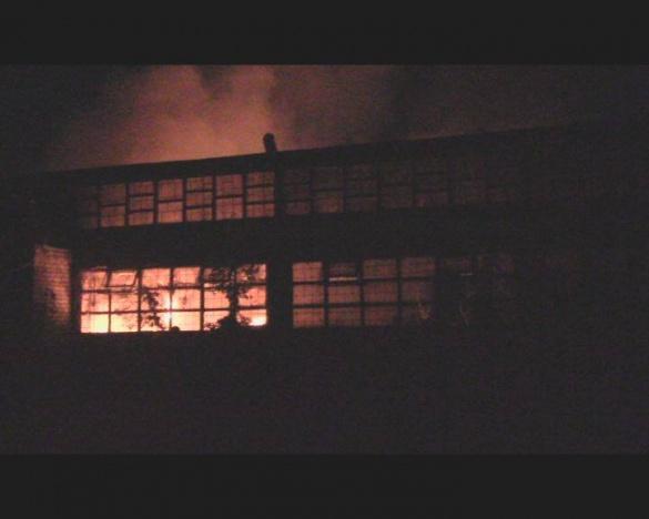 У Черкасах вночі загорілося приміщення ДОКу (ФОТО, ВІДЕО)