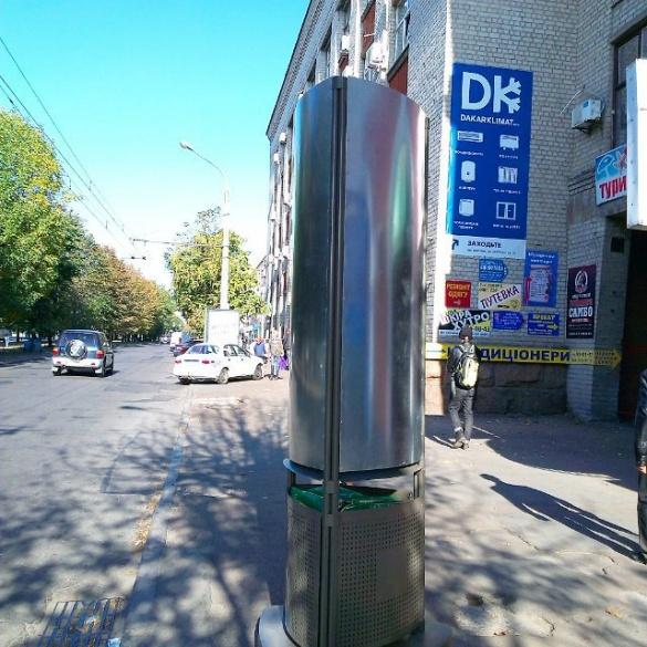 На вулицях міста з'явилися нові смітники