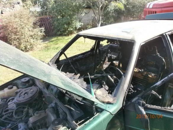 Пожежа посеред дороги та підпал: на Черкащині тричі гасили палаючі авто