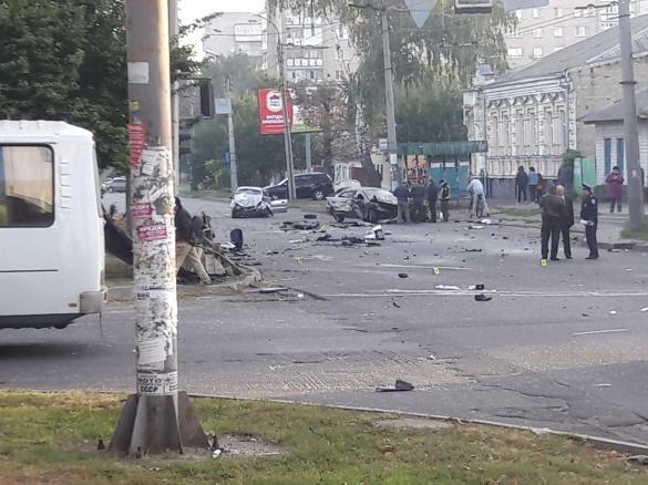 Двоє постраждалих у страшній ДТП в Черкасах на межі життя і смерті