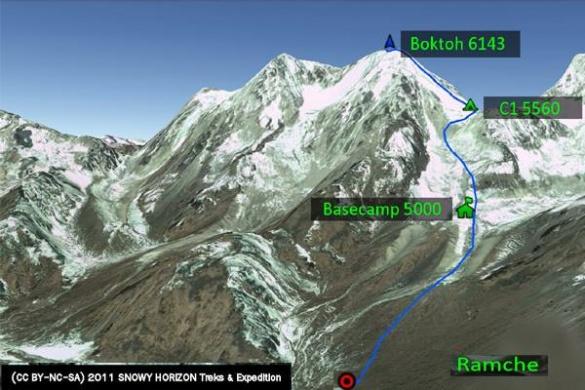 Черкаські альпіністи з гімалайської вершини передають повідомлення