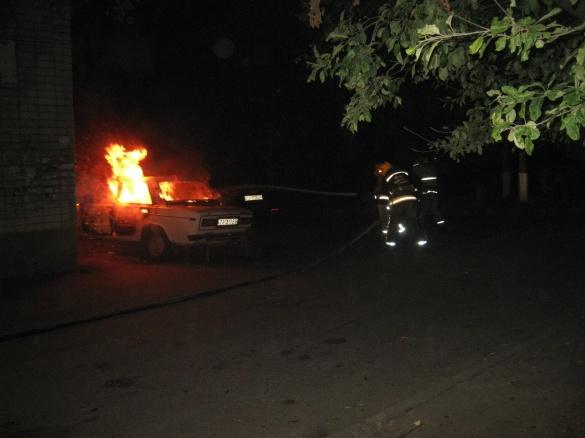 На Черкащині згорів автомобіль, три – вдалося врятувати