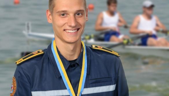 Черкаський спортсмен – у трійці найсильніших веслярів України