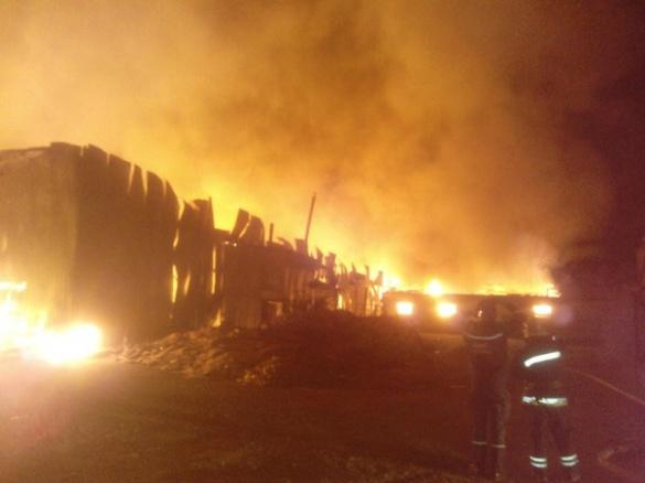 Стали відомі подробиці нічної пожежі біля