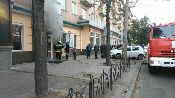 Рятувальники повідомили причину пожежі у центрі Черкас