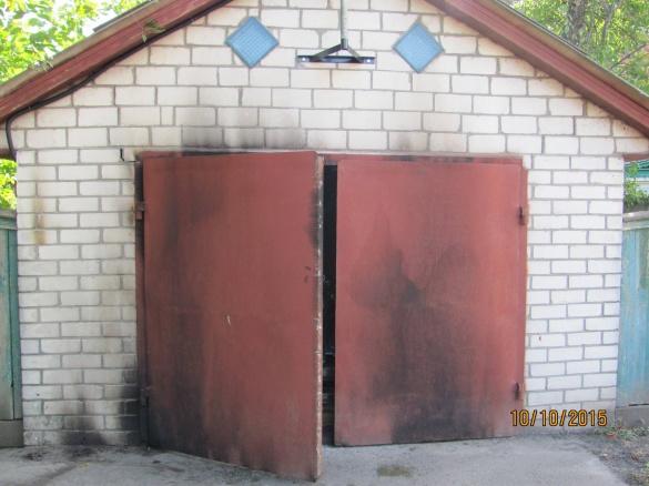 Підпал: на Черкащині горіли гараж і контейнер