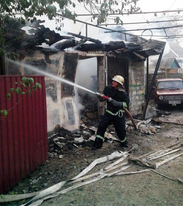 На Черкащині через несправну піч згоріло авто