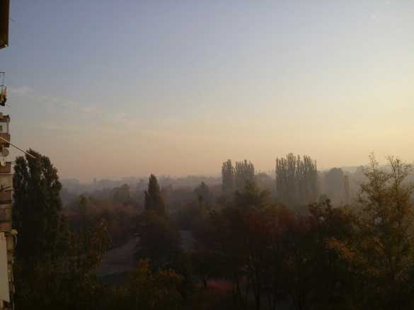 Головний еколог Черкас запевняє, що смог виник не на території області