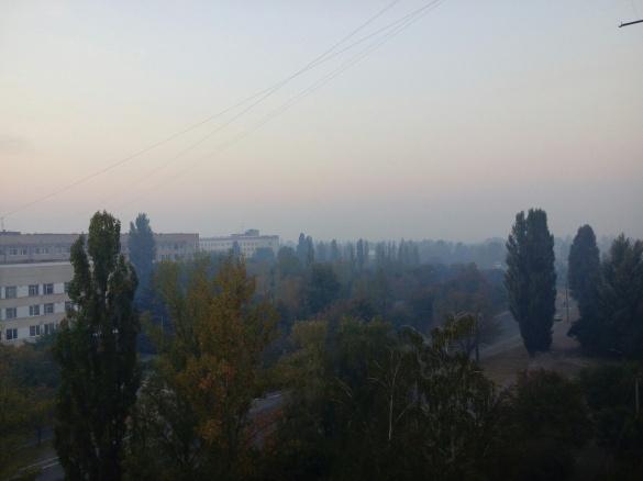 У чотирьох точках Черкас зафіксували перевищення смогу в повітрі